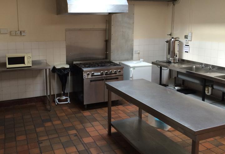 main kitchen inside